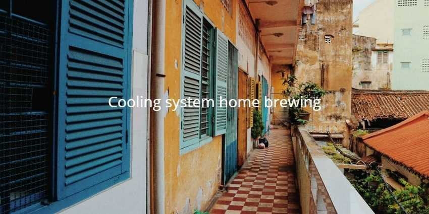 Cooling system home brewing