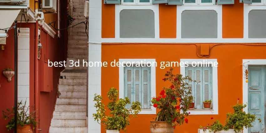 best 3d home decoration games online
