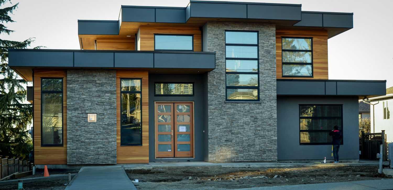 stylish flat roof