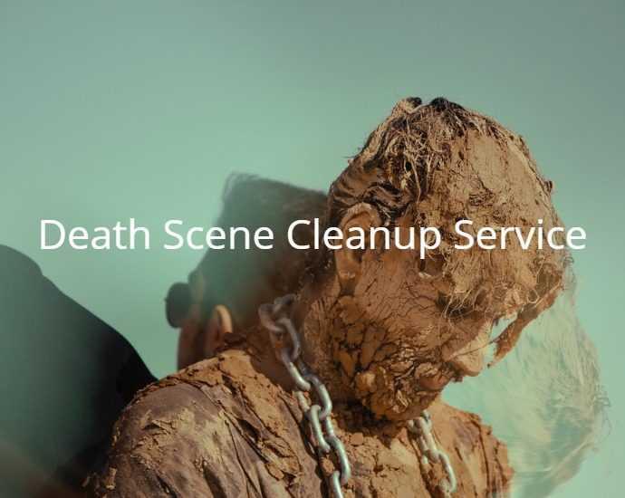 Death scene cleanup service