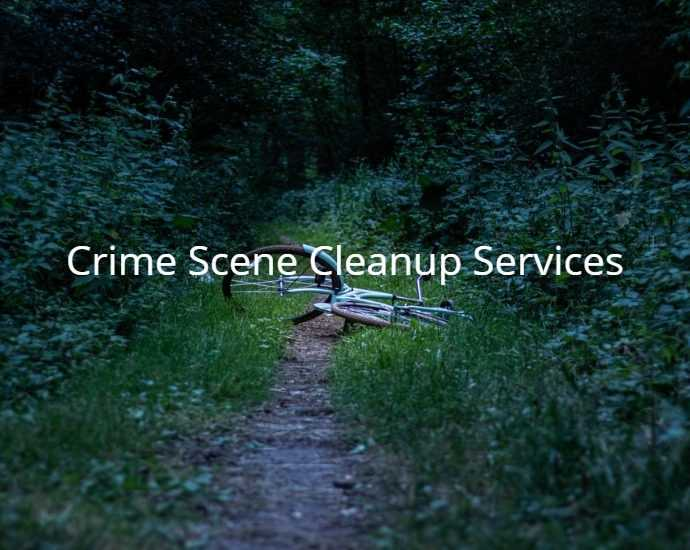 Crime Scene Cleanup Services