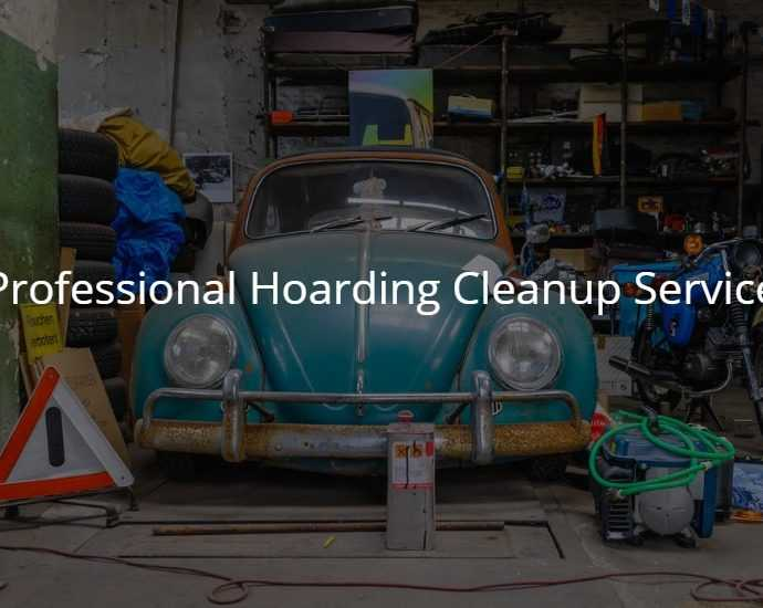 Professional Hoarding Cleanup Service