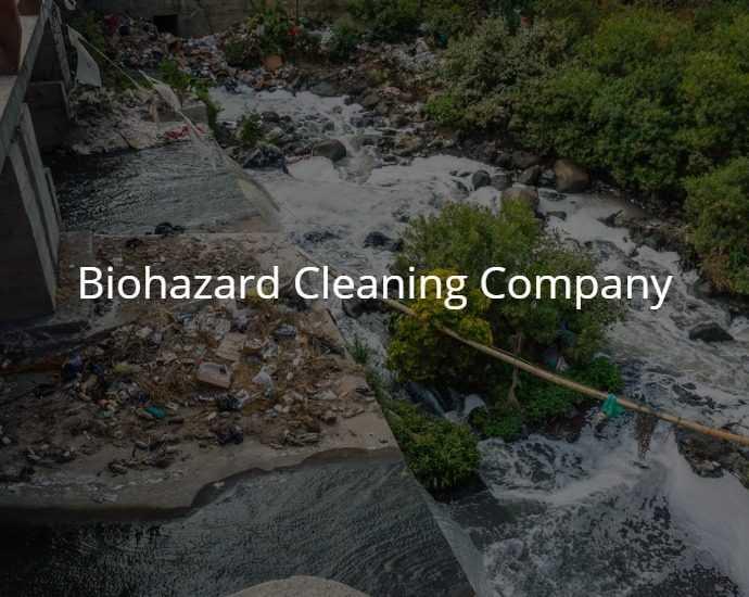 Biohazard Cleaning Company